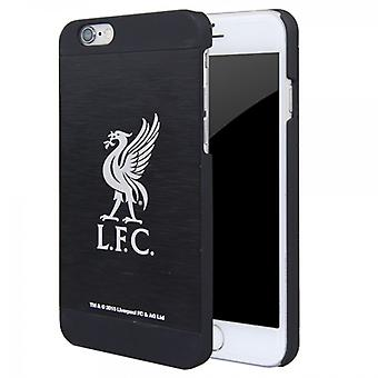 Official Liverpool FC Aluminium Football Case Cover for Apple iPhone 6 Black 4.7inch