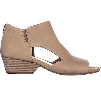 Naturalizer Womens Greyson lederen open teen casual mule sandalen