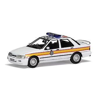 Ford Sierra Sapphire RS Cosworth 4x4 Sussex Poliisi 1:43 Corgi Vanguard Malli