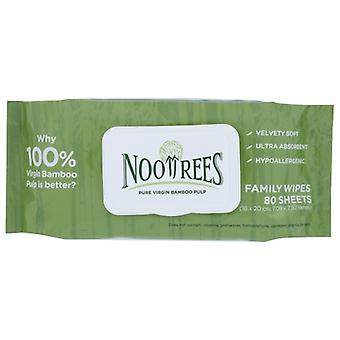 Nootrees Wipes Wet Family, Case of 24 X 1 Each