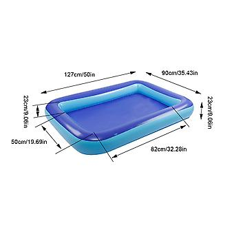Kinderen Familie Inflatie Zwembad Baby Ocean Ball Sand Pool Bath Toys Square