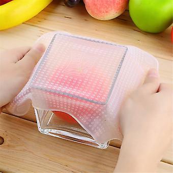 Reusable Silicone Re-usable Food Storage Wraps Safe Kitchen Wrap