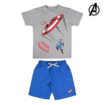 Set of clothes The Avengers Grey Blue