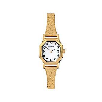 Sekonda 4265 White And Gold Ladies Expander Watch