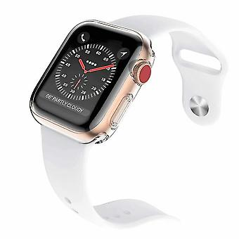 2-pack Series 3 38mm Case For Apple Watch Screen Protector, Iwatch Overall Protective Case