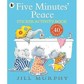 Five Minutes' Peace Sticker Activity Book 1 Large Family