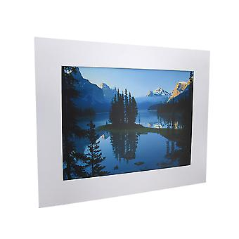 National Geographic Matted Print - Maligne Lake - 16 x 20 Inches