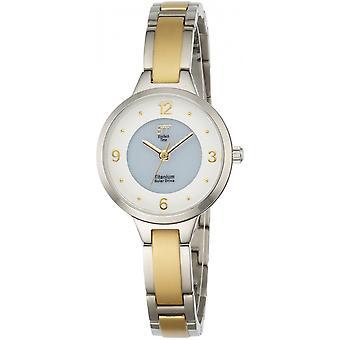 ONE (Eco Tech Time) Gold Titanium ELT-12046-11M Women's Watch