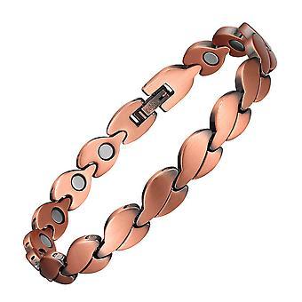 Koperen armband voor mannen jongens retro armbanden magnetische energie armbanden