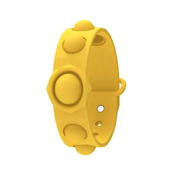 Evago Push Pops Bubble Sensory Fidget Bracelet Toys Wearable Relief Stress Wristband Game Soft Squeeze Toy For Kids And Adults Anxiety