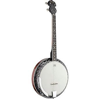Stagg 4-string Tenor Banjo with metal pot (BJM304DL)