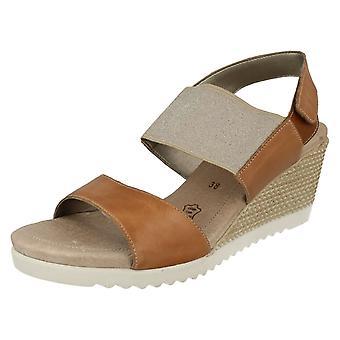 Дамы Remonte клина каблуках сандалии D3458