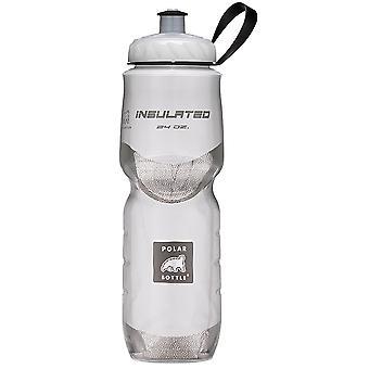 Полярный бутылка спорта изолированные 24 oz бутылку воды - белый