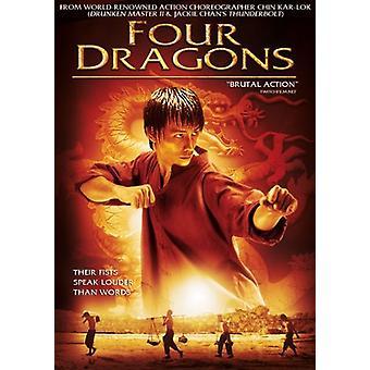 Cuatro dragones [DVD] los E.e.u.u. la importación