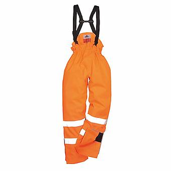 Portwest - Bizflame Rain Lined Specialist Safety Hi-Vis Antistatic FR Trouser