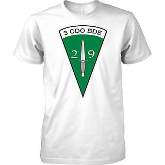 Royal Marines 29 Commando Artillerie - 3 Cdo Brigade Insignia - Kinder T Shirt