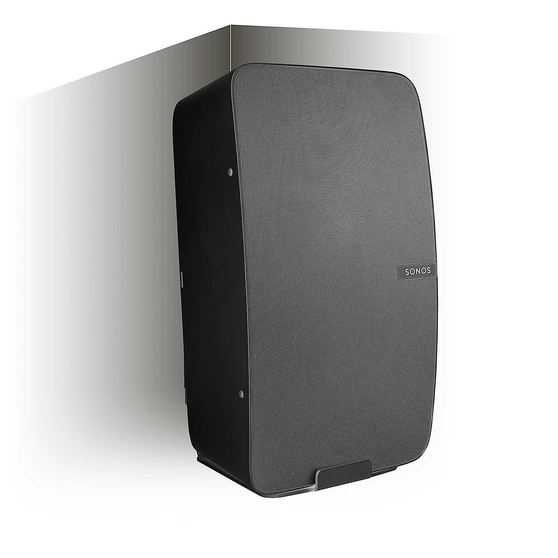 Vebos corner wall mount Sonos Play 5 gen 2 black - vertical
