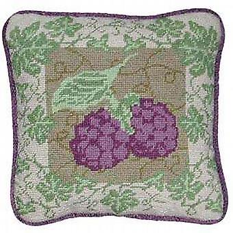 Blackberry Ivy Needlepoint Kit