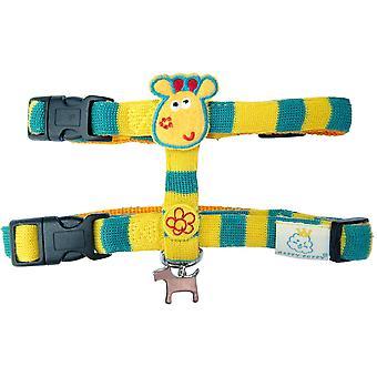 Pet Brands Happy Puppy Jungle Giraffe Dog Harness