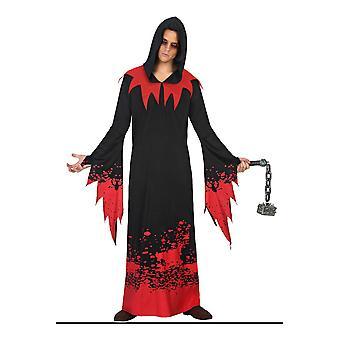 Herren Kostüme Halloween Männer Kostüm Geist mit Blut