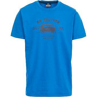 Intrusion Mens espace manches courtes imprimé T-Shirt Casual sport