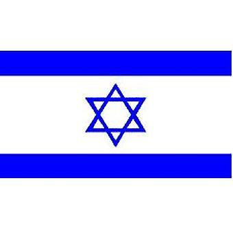 Israël 8 ft x 5 ft met oogjes voor hangende vlag