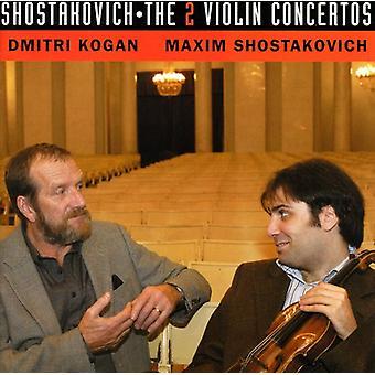 D. Shostakovich - Shostakovich: The 2 Violin Concertos [CD] USA import