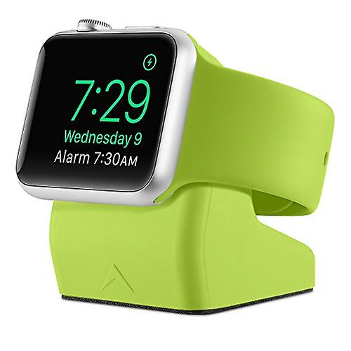 Elevation lab NS-105 nightstand stand for Apple iWatch Green