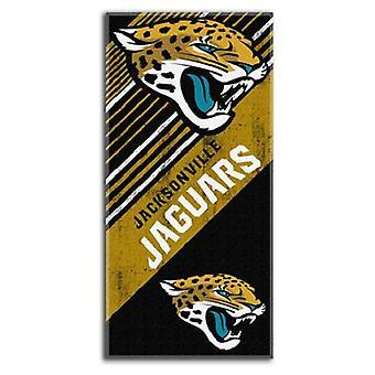 Jacksonville Jaguars NFL Northwest Beach Bath Towel
