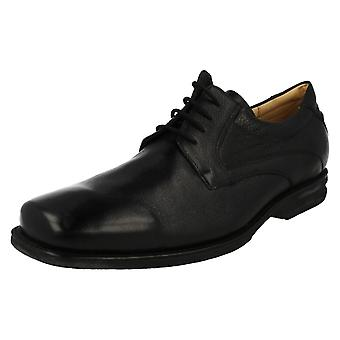 Mens Anatomic Grained Leather Formal Shoes Passos