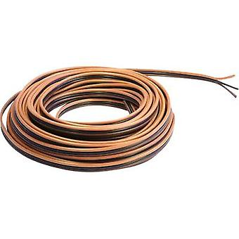BELI-BECO L318/5F Strand 3 x 0.14 mm² Light brown, Black, Dark brown 5 m