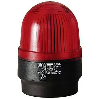 Werma Signaltechnik Luz 202.100.68 Red Flash 230 V AC