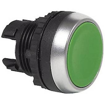 BACO BAL21AA82 drukknop voor ring (PVC), verchroomd groen 1 PC (s)