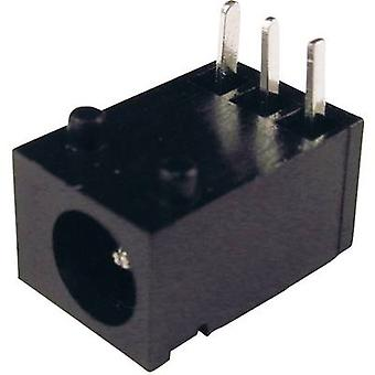 Cliff DC-8N lage voedingsconnector Socket, horizontale mount 3,75 mm 1.3 mm 1 PC('s)