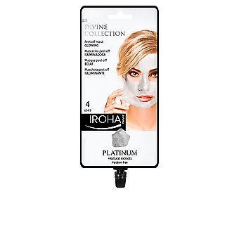 Iroha Platinum Peel-off Glowing Mask 4 Uses For Women