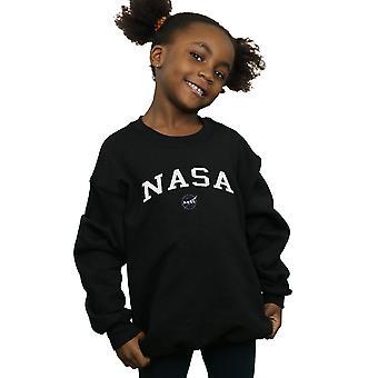 NASA Girls Collegiate Logo Sweatshirt