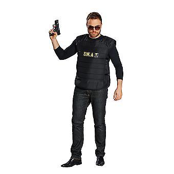 SWAT vest US police special unit special forces costume for men