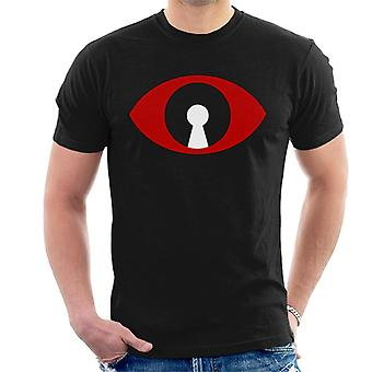 Must Read Book Covers 1984 Big Brother Eye Men's T-Shirt