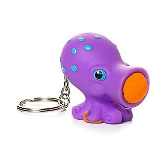 Hog Wild Toys Popper Octopus Keychain