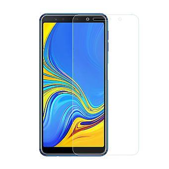 Samsung Galaxy A7 2018 Panzer Schutz Display Glas Panzerfolie 9H Echtglas - 5 Stück