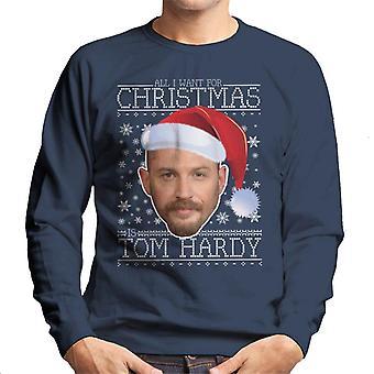 Tutto quello che voglio per Natale è Tom Hardy felpa