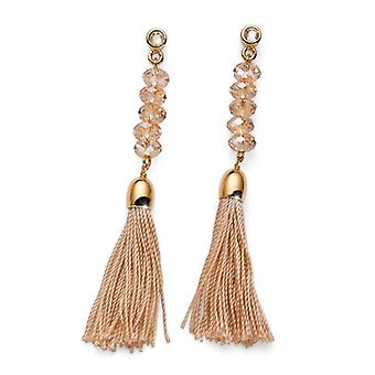 Oliver Weber Post Earring Like Gold Lt. Col. Topaz