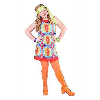 Pour enfants costumes robe hippie Batik pour les filles