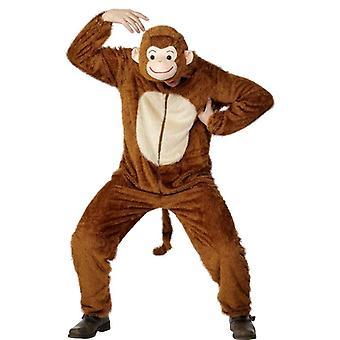 Monkey kostým, dospelý, hrudník 42