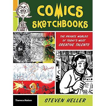 Carnets de la bande dessinée - le monde invisible des Talents plus créatives d'aujourd'hui