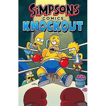 Simpsons sarjakuva - Knockout Matt Groening - 9781785655760 kirja
