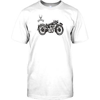 Vincent HRD - Classic British Bike Herren-T-Shirt