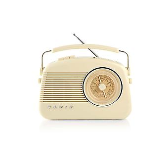 Nedis RDDB5000BG Dab+-radio 5,4 W Fm Draaggreep Beige