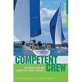 Tripulante competente: Para nova equipe e tripulação competente estudantes