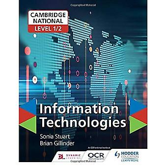 Cambridge nasjonale nivå 1/2 sertifikat i informasjonsteknologi